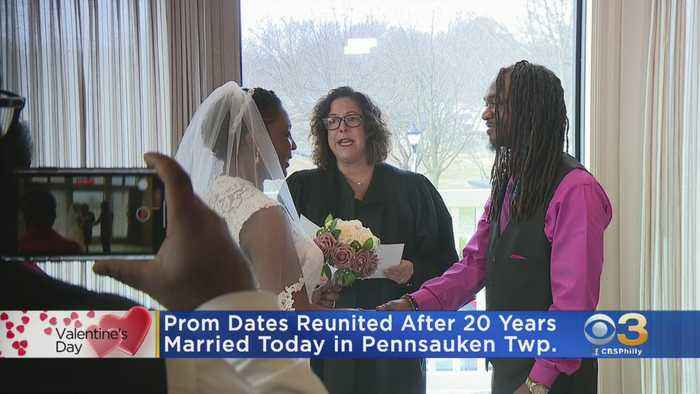 High School Prom Dates Reunite After 20 Years