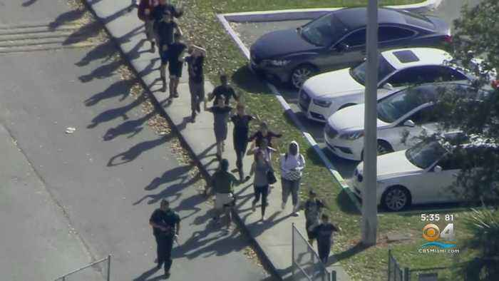 South Florida Pauses For Moment Of Silence Two Years After Parkland School Shooting