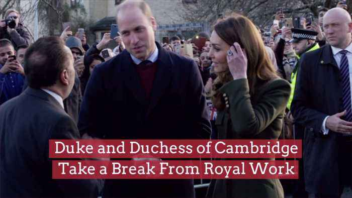 The Duke And Duchess Of Cambridge Need A Break