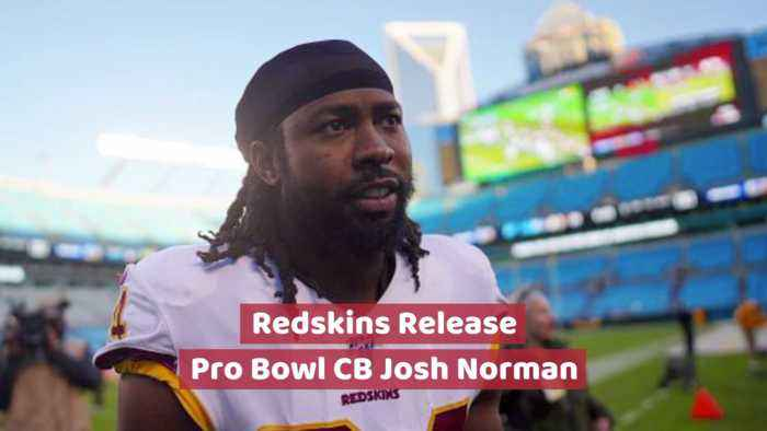 CB Josh Norman Is Released