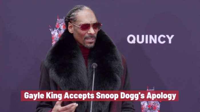 Gayle King Forgives Snoop Dogg