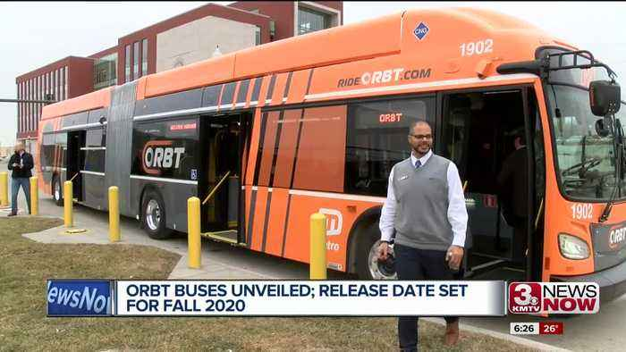 ORBT buses unveiled; Project to be completed by fall 2020