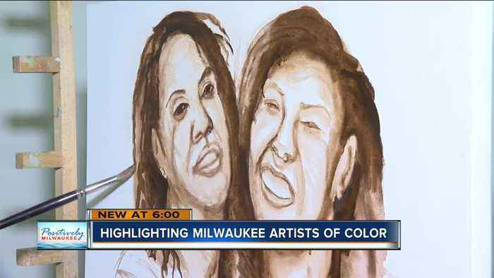 Black History Month: Milwaukee art gallery showcases artists of color