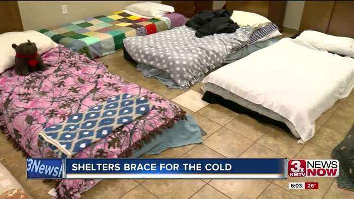 Omaha shelters bracing for cold blast
