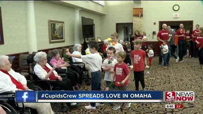 #CupidsCrew Spreads Love in Omaha