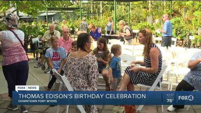 Thomas Edison 173rd Birthday Celebration