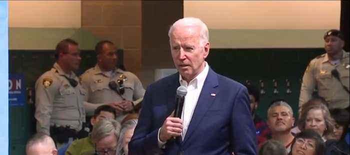 Vice President Joe Biden getting life from famous 'Hudson River' pilot