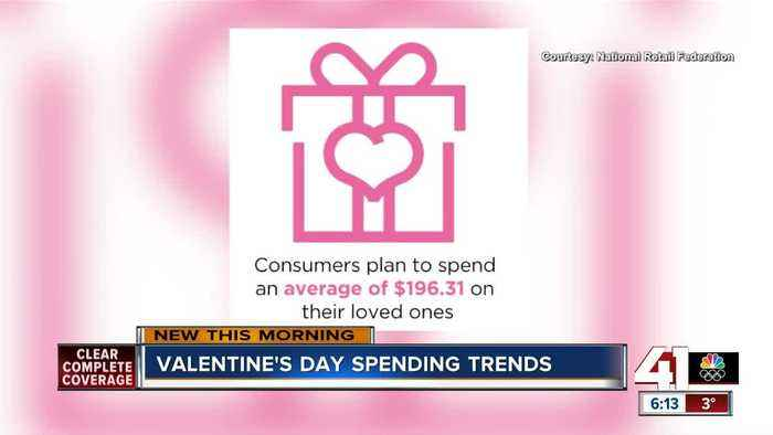 Valentine's Day spending trends
