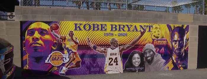 New Kobe Bryant mural in Las Vegas