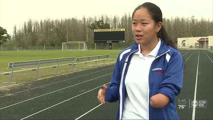 Hillsborough County teen set to compete on world stage