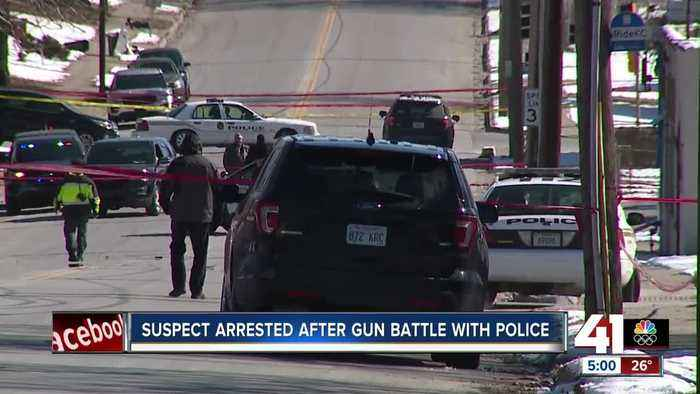 Officer-involved shooting in KCK following suspect's crime spree