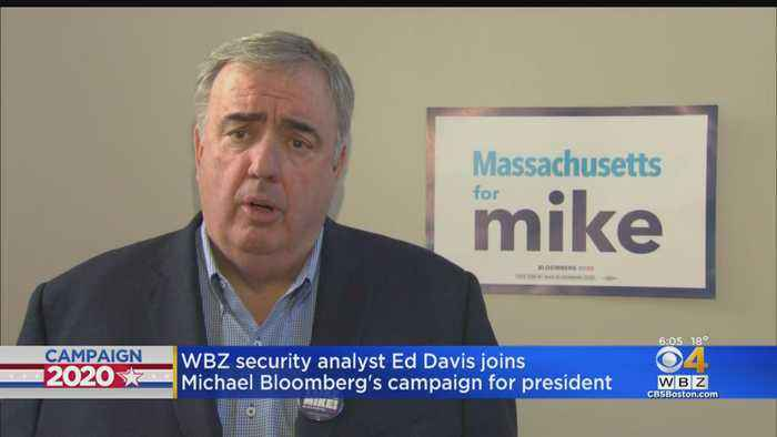 Ed Davis Joins Michael Bloomberg's Campaign For President