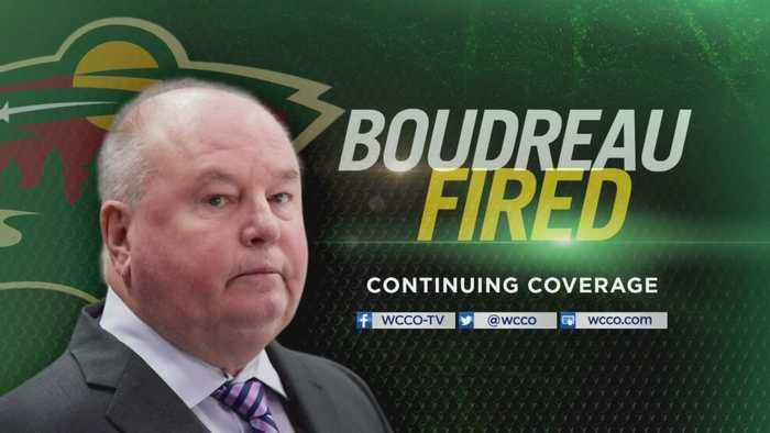 Wild Head Coach Bruce Boudreau Fired