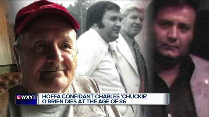 Charles 'Chuckie' O'Brien, self-proclaimed foster son of Jimmy Hoffa, dies at 86