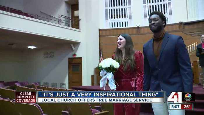 Unity Temple offers free marriage service on Valentine's Day