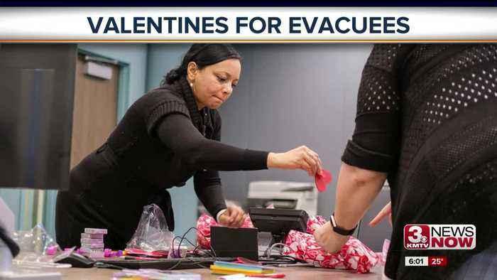 Valentines for Evacuees