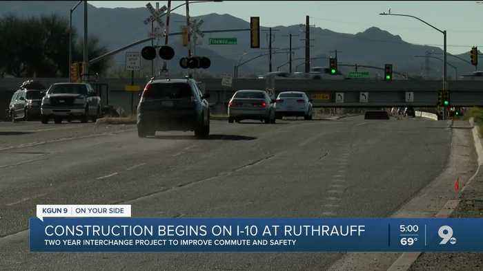 Two-year interchange project at I-10/Ruthrauff Road begins Feb. 14