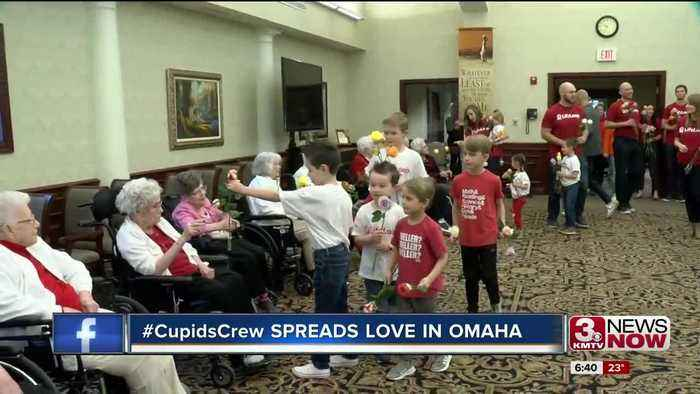 #CupidsCrew Spreads Love in Omaha