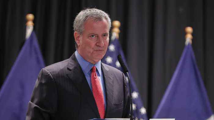 New York Mayor Bill de Blasio Endorses Sanders' Presidency