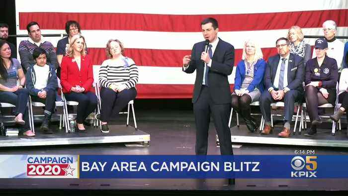 Democratic Presidential Candidates Hold Bay Area Events Ahead Of CA Primary