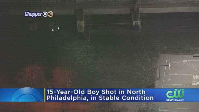 Police: 15-Year-Old Boy Shot In North Philadelphia
