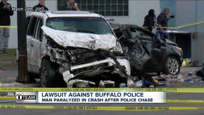 Buffalo Police violated no-chase policy in crash that paralyzed man, lawsuit says