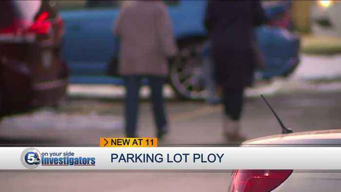 Parma police warn seniors about parking lot repair ploy