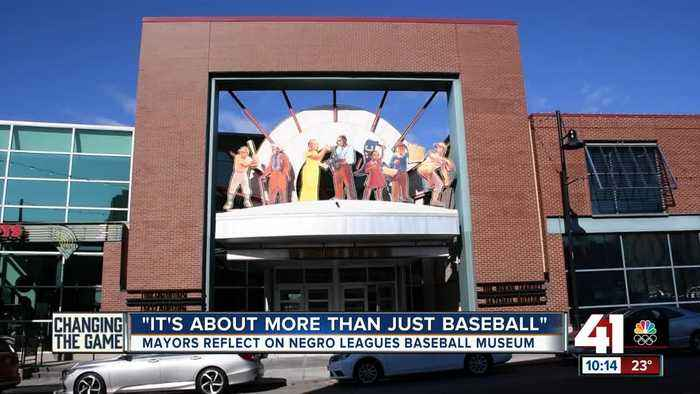 Mayors Cleaver, Lucas reflect on origins, growth of Negro Leagues Baseball Museum