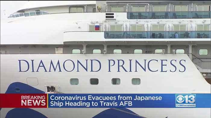Report: Coronavirus Evacuees From Japanese Ship Heading To Travis AFB