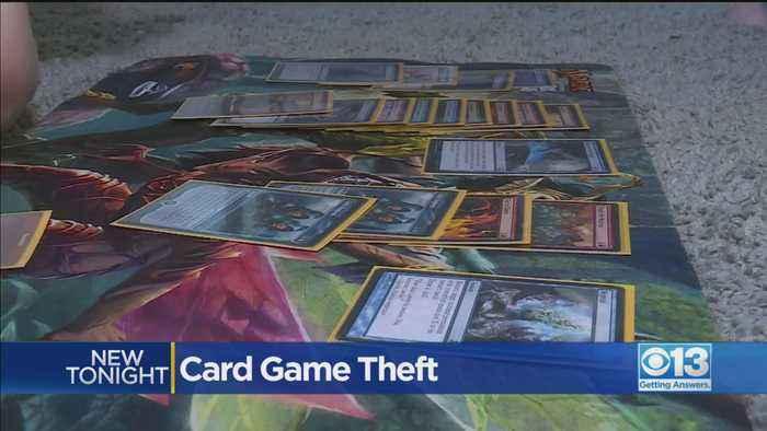 Magic Card Game Theft
