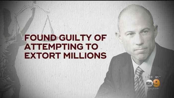 Former Stormy Daniels Lawyer Michael Avenatti Convicted In Nike Extortion Trial