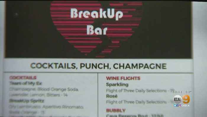 Celebrate Valentine's Day With Weddings, Flowers — Or At The Breakup Bar