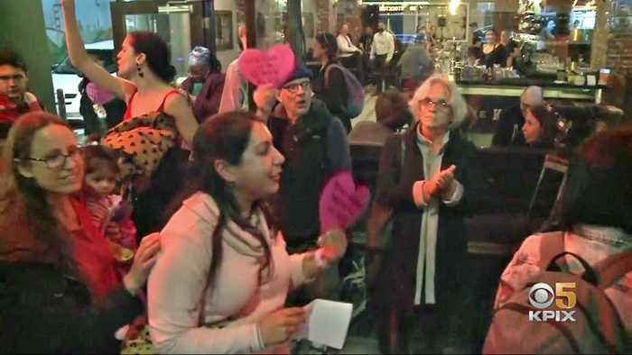 Housing Activists' Protest Disrupts Valentine Dining at SF Tavern