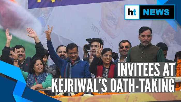 Arvind Kejriwal swearing-in: From teachers to farmers, Sisodia lists invitees