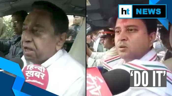 'Do it': Kamal Nath on Jyotiradiya Scindia's agitation threat over loan waiver