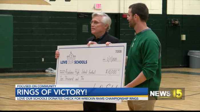 10K Grant Awarded to Acadiana High Wreckin' Rams'
