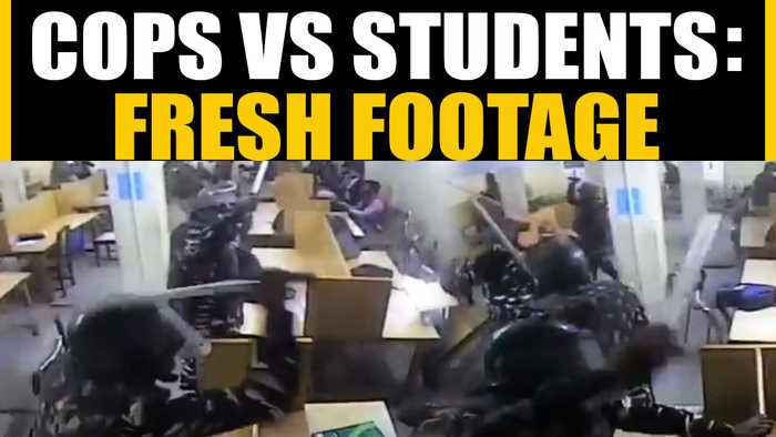 Jamia violence: New footage emerges showing police action on students| OneIndia News