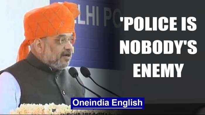 Amit Shah defends Delhi Police, they are nobody's enemy| OneIndia News