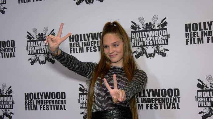 Amelie Anstett 2020 Hollywood Reel Independent Film Festival Red Carpet Fashion