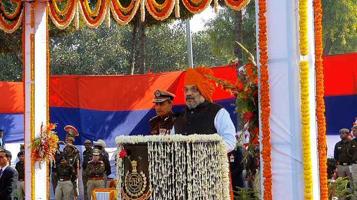 Amit Shah speaks on 73rd Raising Day Parade of Delhi Police