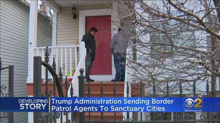 Chicago Communities On Alert For Border Patrol Agents