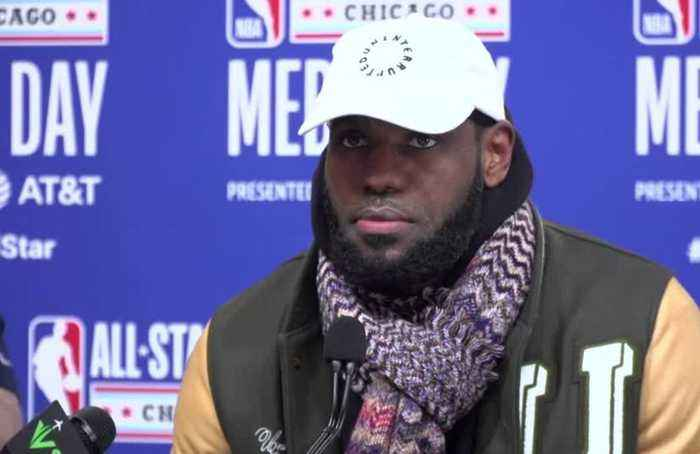 NBA All-Star captains LeBron, Giannis excited for game but missing Kobe