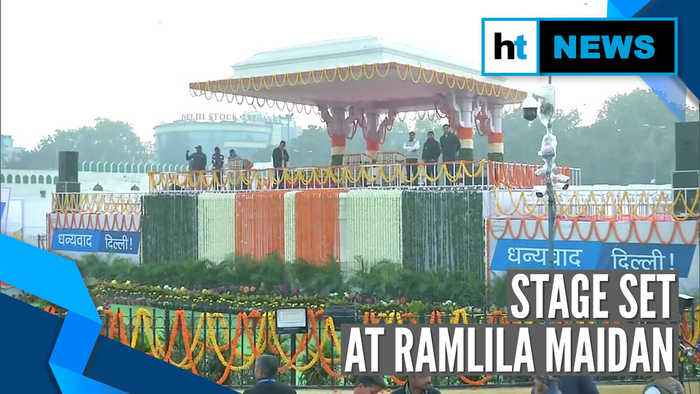Arvind Kejriwal to take oath as Delhi CM at Ramlila Maidan