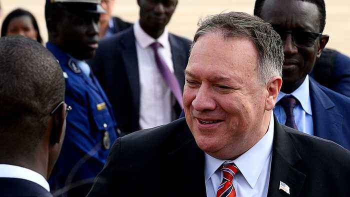 Pompeo in Senegal: Africa caught in US-China trade war