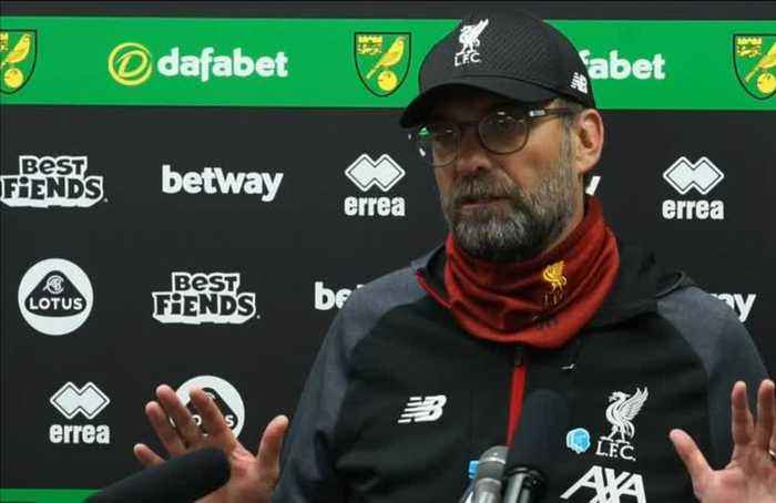 Klopp shocked by 'sensational' City's Europe ban