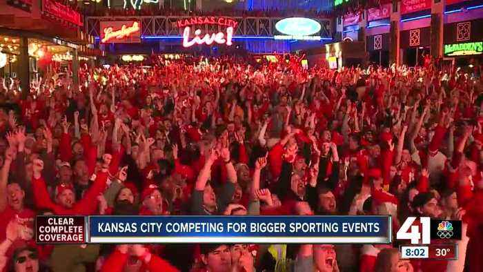 Kansas City competing for bigger sporting events