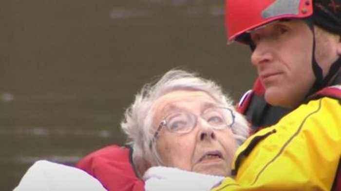 Storm Dennis wreaks havoc across UK