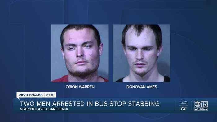 Phoenix PD arrest 2 suspects in robbery, stabbing