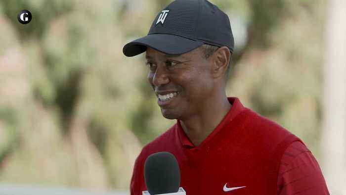 Post Round with Tiger Woods, 2020 Genesis Invitational, Final Round