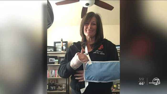 Denver skier injured in collision on slopes hope others learn from her experience